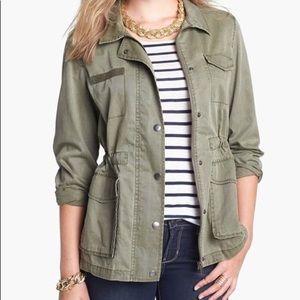Army green layering jacket